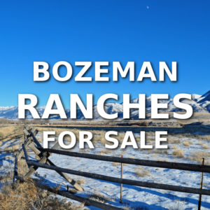 Bozeman Ranches For Sale
