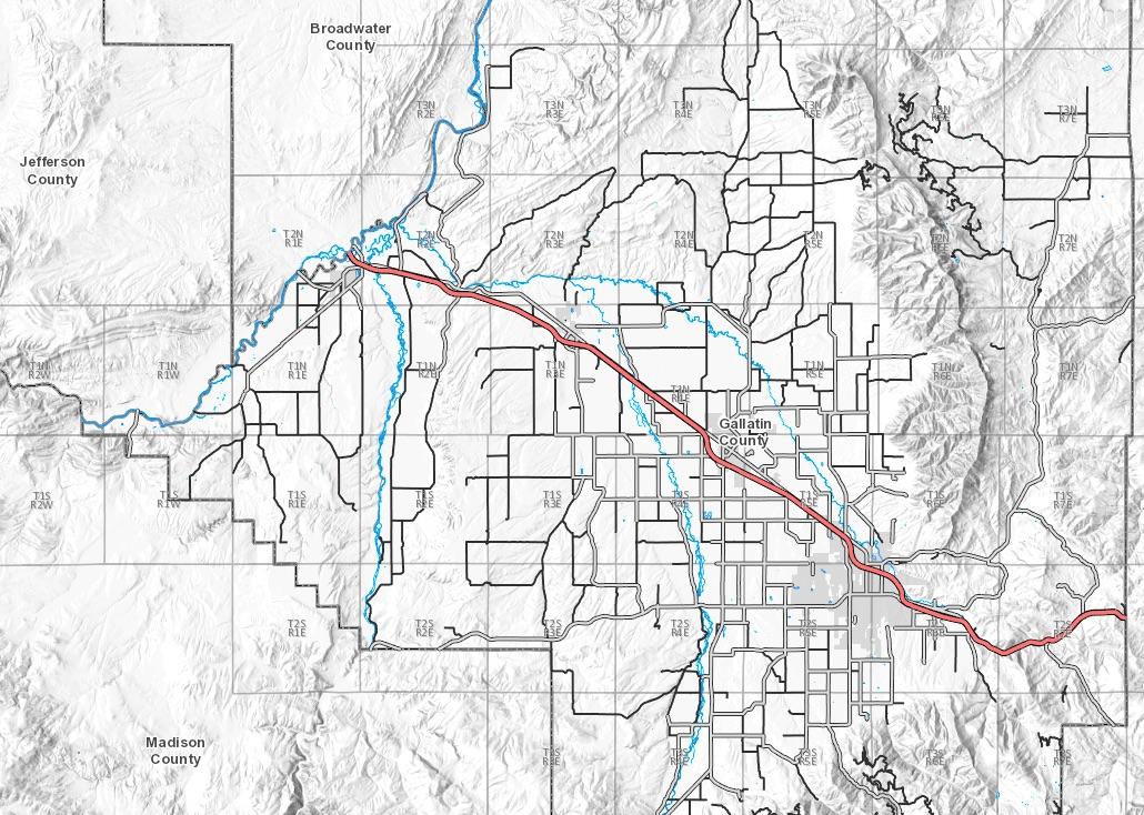 Gallatin County Floodplain Map