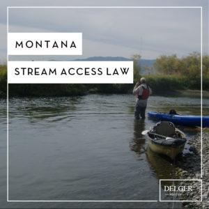 Montana Stream Access Law