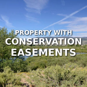Property With Conservation Easements For Sale