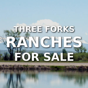 Three Forks Ranches For Sale